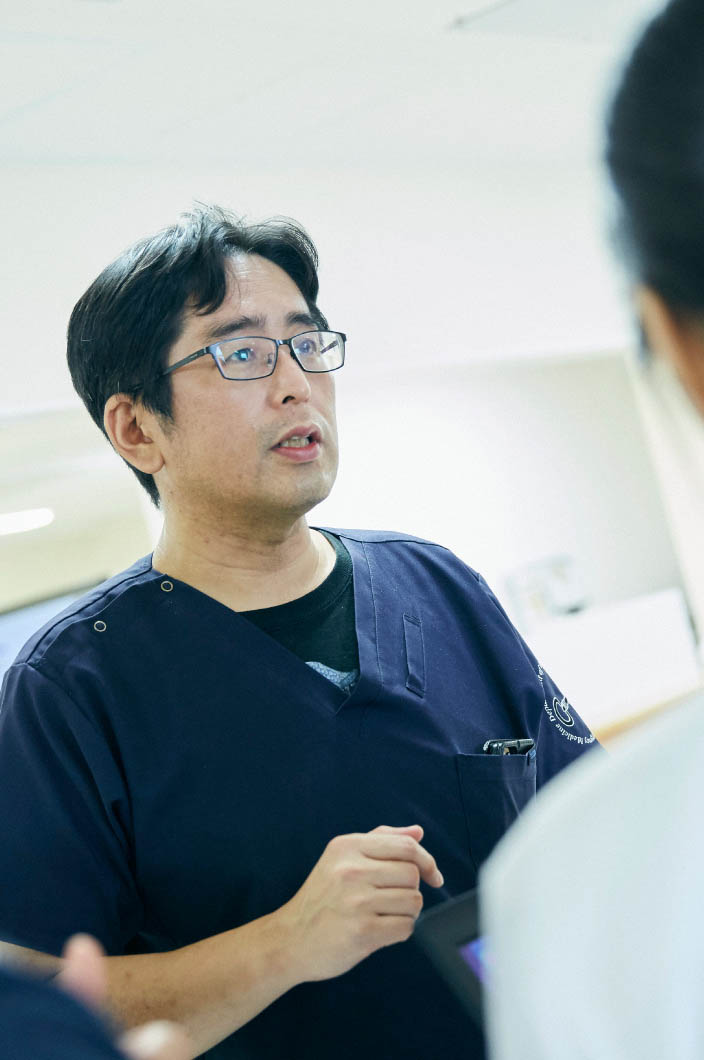 藤田医科大学病院 救急総合内科 風景写真