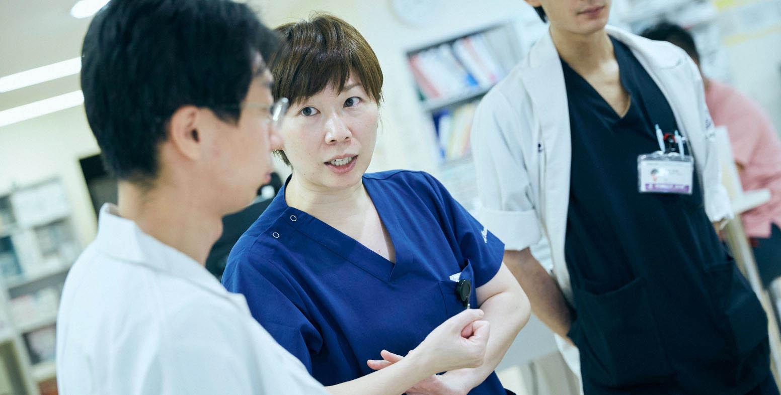 救命ICU 助教 風景